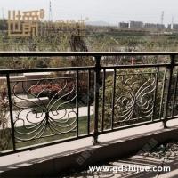别墅铝艺护栏批发 园林围栏定制 酒店精致艺术铝艺阳台护栏