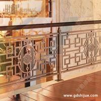別墅樓梯護欄 別墅樓梯扶手 銅樓梯護欄