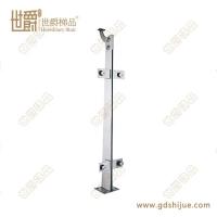 工程夹玻璃钢立柱 楼梯不锈钢立柱