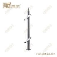 圆管不锈钢楼梯立柱 定制栏杆护栏 选用优质钢材