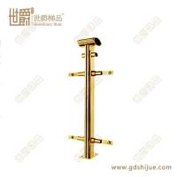 厂家定制护栏立柱 钛金楼梯立柱 不锈钢立柱