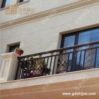 家用阳台铝合金镂空雕花阳台护栏 豪华欧式别墅 小区铝艺护栏