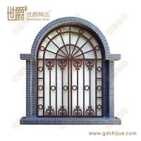 复古欧式铝艺窗花 酒店仿古铝窗花 厂家支持定制