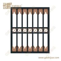 铝艺防盗窗花 高端小区安全防护窗花 铝窗花