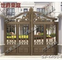 別墅庭院整套門 鋁藝雕花別墅門