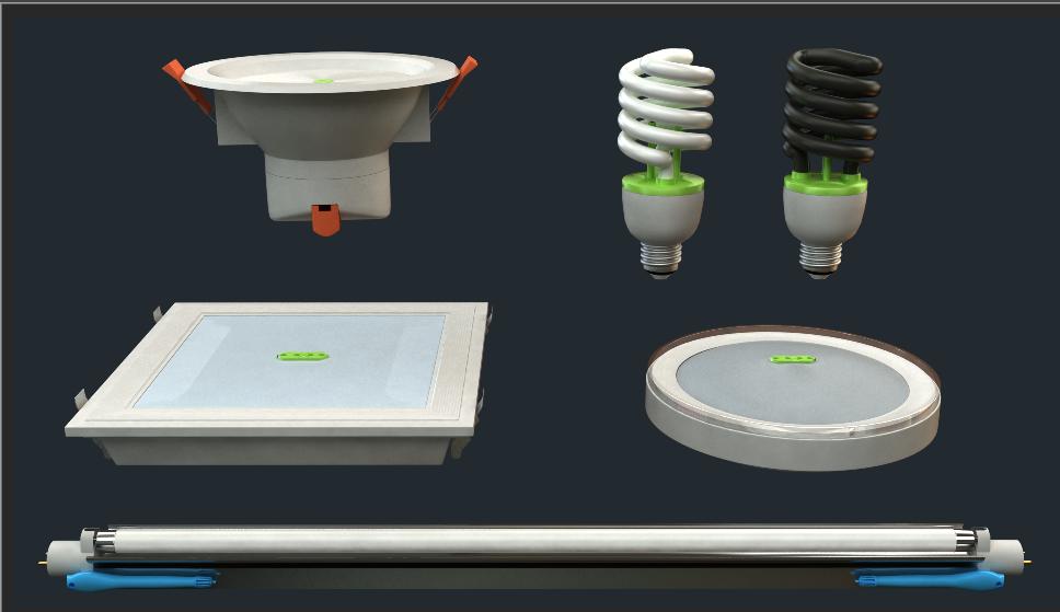 照明空气净化器、新一代净化器
