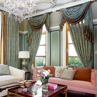 帘到家 L61法式提花布遮光窗帘客厅卧室落地窗 布628-5