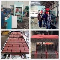 园林工程混凝土路面透水砖机 冠福4型多用途马路花砖机