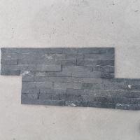 黑色文化石 别墅外墙砖凹凸面灰色蘑菇石 青石板岩 文化石厂家