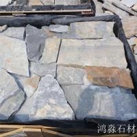 碎拼石厂家销售 黄木纹碎拼石 花岗岩碎拼石 厂家