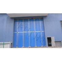 彩鋼電動折疊門,廠房鋼質折疊門