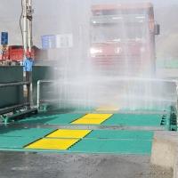 攪拌站自動沖洗平臺95%的潔洗的秘訣-原來在這里