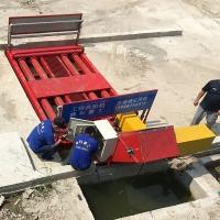 全自动工程洗轮机工作流程-简单好操作