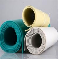 3mm4mm5mmPVC绿色软板 防腐耐磨绿色胶板 PVC铺