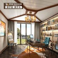 艺扣 全屋定制客厅造型白色长条型阳台