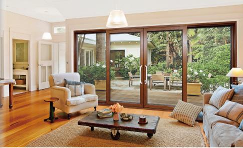 芬德格林门窗-断桥铝门窗-190重型推拉门-阳光房