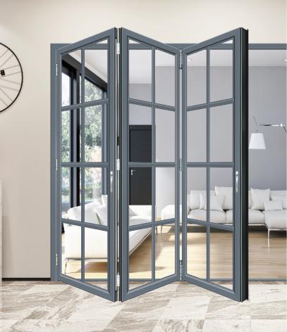 芬德格林门窗-断桥铝门窗-68折叠门-阳光房