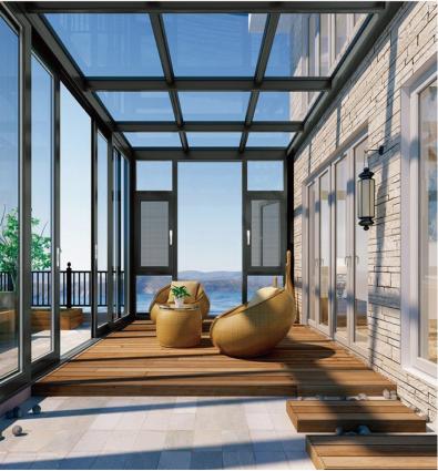 阳光房系列—芬德格林门窗-断桥铝门窗