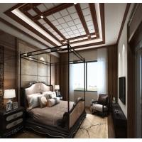 鑫家美艺 中式风格 江南系列 卧室吊顶