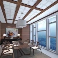 鑫家美艺地中式风格 江南系列 餐厅吊顶