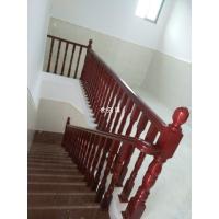 长沙实木楼梯扶手定制-农村自建房、别墅实木扶手设计包安装