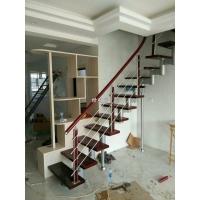 长沙复式楼梯安装-钢木结构整体楼梯定制-旋转楼梯适用于复式阁