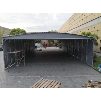 武汉活动推拉雨棚可移动伸缩帐篷 中恒达