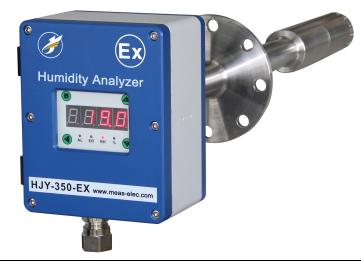 防爆湿度仪HJY-350-EX电容式/陶瓷感湿烟气水分仪