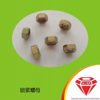 庄一/镀锌全金属六角锁紧螺母 DIN 980-1987
