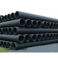 自產自銷PE波紋管500HDPE雙壁波紋管價格地下排污管實體
