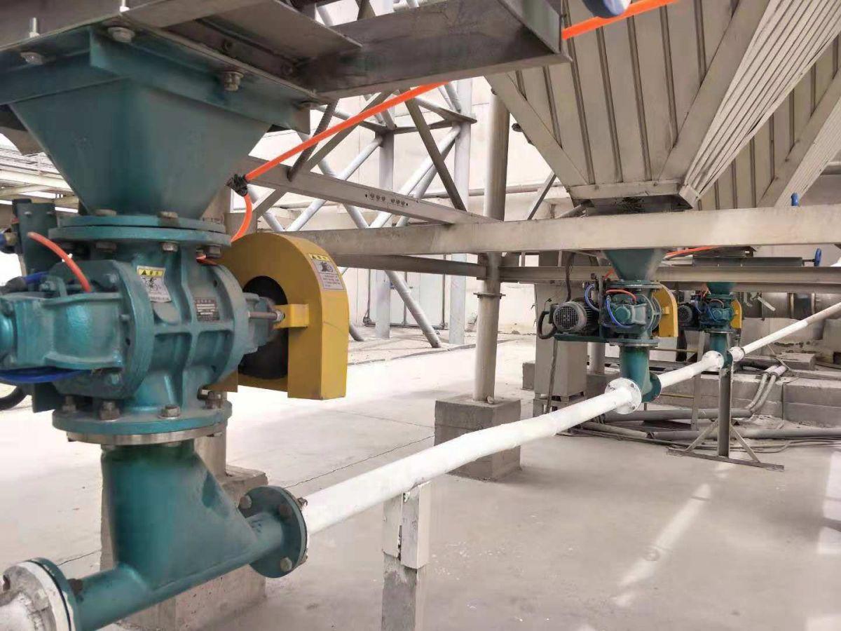 气力输送专用 脱硫脱硝 悬挂式不锈钢旋转供料器CRS15