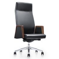 高档办公电脑椅 时尚真皮休闲椅 可旋转大班椅