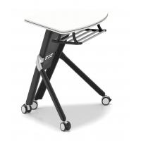 折叠扇形课桌椅 可组合圆形会议桌 高校智慧教室课桌