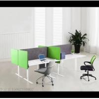格丽室PET聚酯纤维吸音桌屏 升降桌屏风 可插图钉 包布屏风