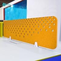 聚酯纤维吸声屏风 可订图钉 可定制图案 办公产品