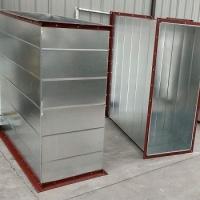 無錫碳鋼焊接風管化工廠無漏風耐高溫圓形黑鐵焊接風管1.0mm