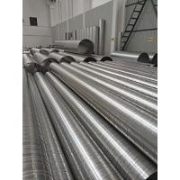無錫2.0mm不銹鋼焊接風管電子設備車間除粉塵排廢氣焊接風管