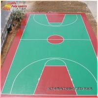 硅pu篮球场施工,灯光球场建设-宝力体育