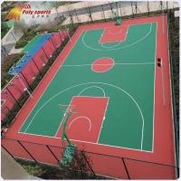 室外塑膠籃球場施工-室外網球場施工-杭州寶力體育