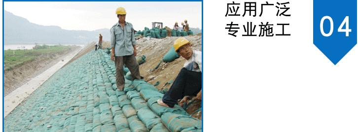 无纺布生态袋 河道护坡袋 长丝草籽袋