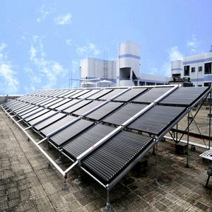 太原学校洗浴中心太阳能热水系统,太阳能热水器_找山西乐峰公司
