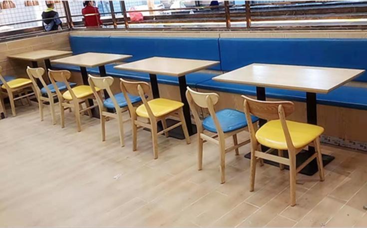 餐飲桌椅飯店桌椅湘菜館桌椅量身定做工廠直銷