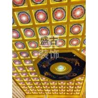 寺廟彩繪吊頂_室內天花板_泉州裝飾花板