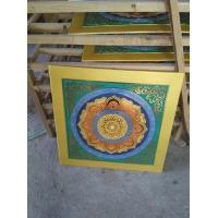 寺庙彩绘吊顶装饰古建新式彩绘艺术吊顶