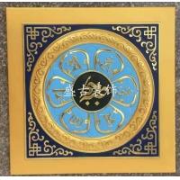 古建天花板_彩繪裝飾天花板_寺廟天花板