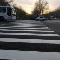 河南路面划线热熔标线涂料专业承接标志标线