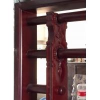 岭南西关特色风格实木入色玻璃满洲窗 装饰趟拢门