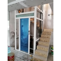 观光家用电梯别墅电梯专用组装式铝合金井道