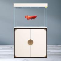 西安魚缸批發廠家君富水族箱家用客廳1.2米1.5米辦公室免換