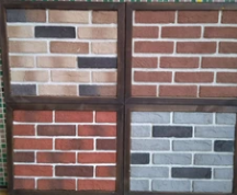 仿古砖背景墙电视墙文化砖白砖青灰色砖墙面装饰材料